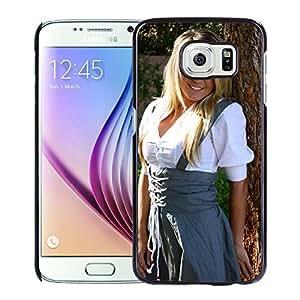 Unique Designed Cover Case For Samsung Galaxy S6 With Jessica Nigri Girl Mobile Wallpaper(1) Phone Case