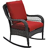 Better Homes and Gardens Colebrook Rocking Chair (Red)