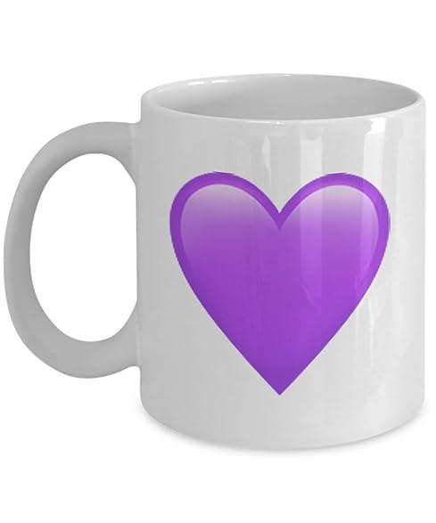 emojies mug purple heart emoji 11 15 oz ceramic emojies coffee mugs