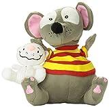 Toopy and Binoo Plush Doll, Grey/White