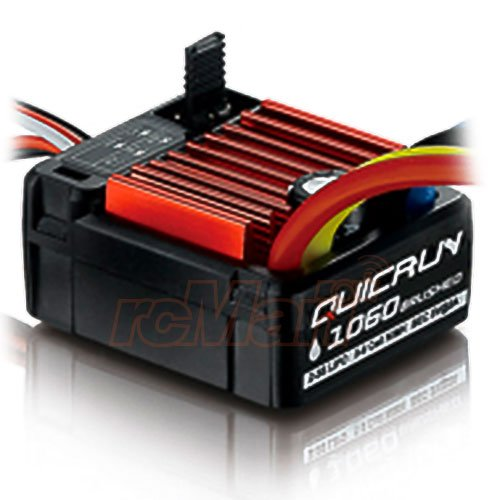 HobbyWing QuicRun 1/10 Waterproof Brushed 60A Electronic Speed Controller ESC 1060