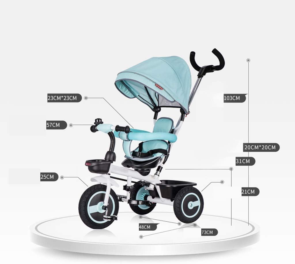 3ウィーラービッグベビーカート、Hからショッピング、医師のレストランの食堂車に子供たちが自転車三輪車6時02分1〜3年ベビーカーの子,B