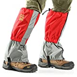 MAIYU Outdoor Waterproof Windproof Gaiters Leg Protection Guard Skiing Hiking Climbing Moutaineering