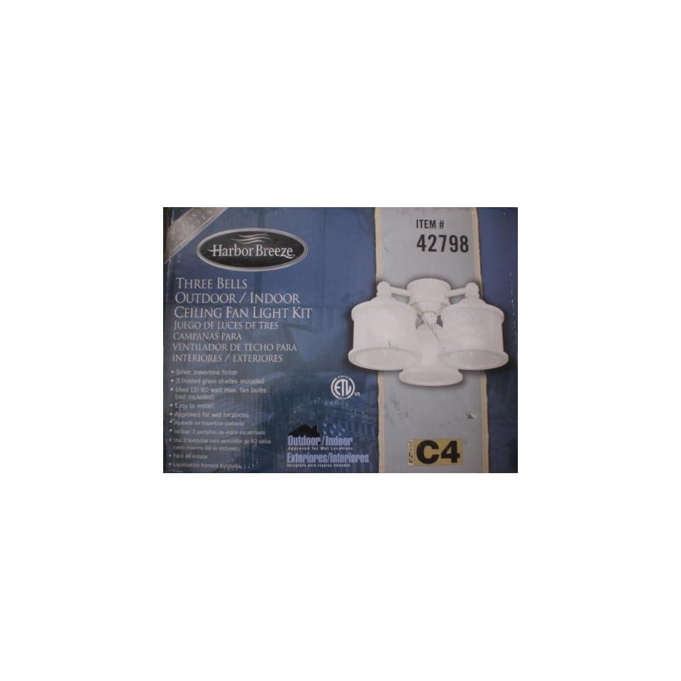 Harbor Breeze/Westinghouse Indoor/Outdoor Ceiling Fan Light Bells Kit