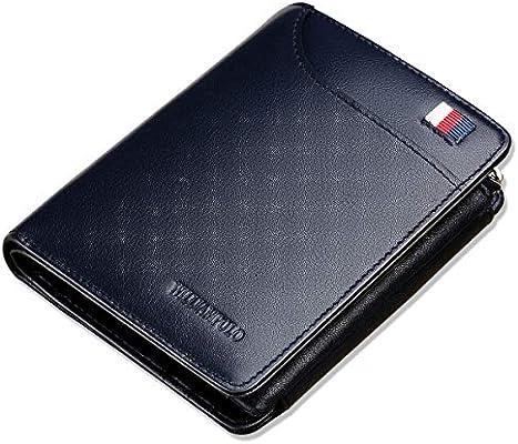 Mens Leather Soft Wallet Credit Card Case Holder Bifold Purse Slim Gents