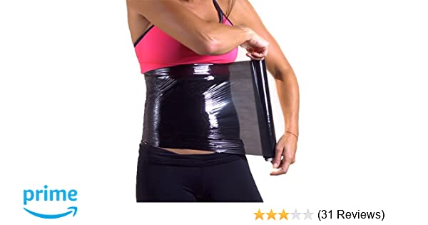 2 Osmotic Plastic Body Wrap Paper Cellulite Waist Burning Fat Speed Up Process 60m