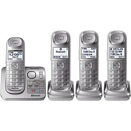 Td Systems Kx Telephone (Panasonic 4 Headset Talking Caller ID English & Spanish -KX-TG674SK)
