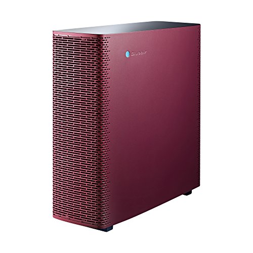 Blueair Sense+ Air Purifier, HEPASilent Technology Particle and Odor Remover, Ruby Red