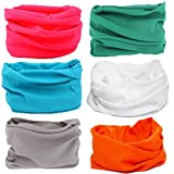16-in-1 4/9 Pcs Multifunctional Style Yoga Sports Fashion Travel Colors Headband Seamless Neck Uv Solid Moisture Wicking Bandana Turban Scarf (style 2)