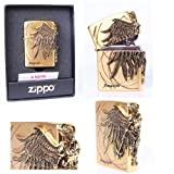 Zippo Amazon Made in USA /GENUINE and ORIGINAL Packing (Gold)