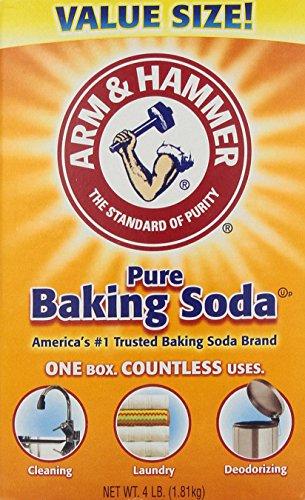 033200011705 - Arm & Hammer Baking Soda-4LB (01170) carousel main 0