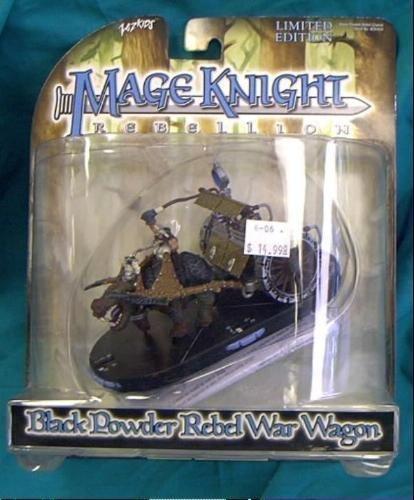 UPC 807652004048, Mage Knight Lmited Edition Black Powder Rebel War Wagon
