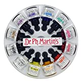 Dr. Ph. Martin's 400255-XXX Hydrus Fine Art Watercolor Bottles, 1.0 oz, Set of 12 (Set 1)