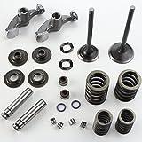 NICHE Cylinder Head Valve Spring Rebuild Kit for Yamaha Big Bear 400 2000-2011