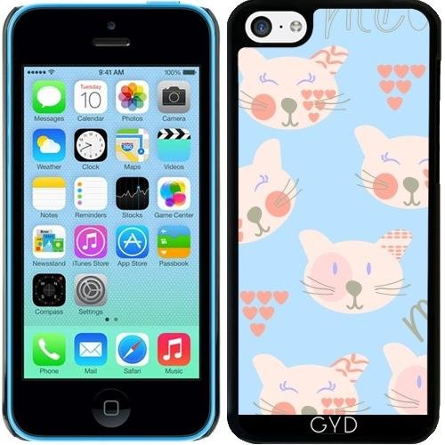 Coque pour Iphone 5c - Chats Motif by Luizavictorya72