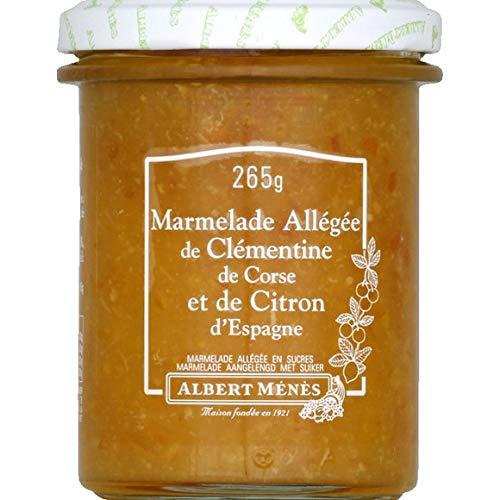 Albert Ménès - Relevado de mermelada de la clementina de Córcega y el limón en España - 265G - Precio por unidad - entrega rápida: Amazon.es: Alimentación y ...