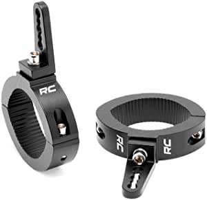 """Rough Country Adjustable LED Light Clamps fits on 2.5-3"""" Bars 70172"""