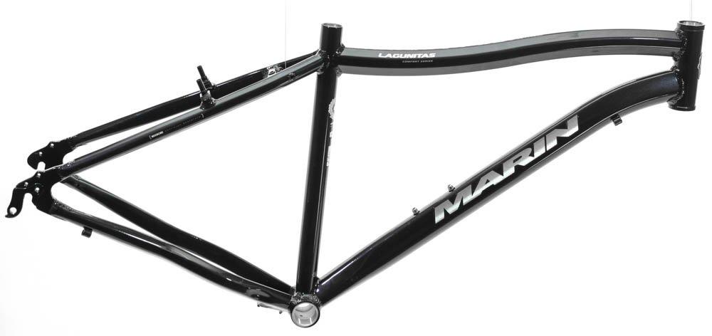 20.5'' MARIN LAGUNITAS 29'' 700c Hybrid Commuter Bike Frame Alloy Black NOS NEW