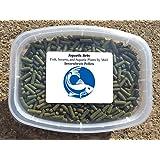 Aquatic Arts Sinking Pellets (.5 lb) Spirulina Food for Freshwater Invertebrates (Crayfish, Crabs, Shrimp, Snails), Fish (Cichlid, Tetra) and more