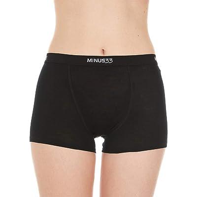 Minus33 Merino Wool 2304 Women's Micro Weight Boyshort: Clothing