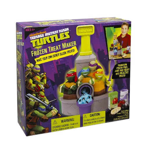 Little Kids Teenage Mutant Ninja Turtles Frozen Treat Maker (Sno Cone Accessories)