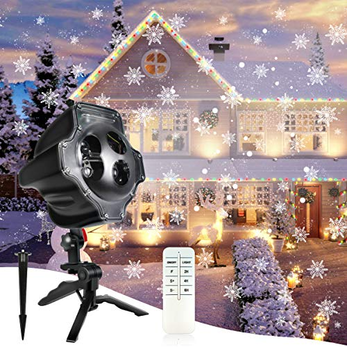 Outdoor Snowflake Light Projector in US - 9