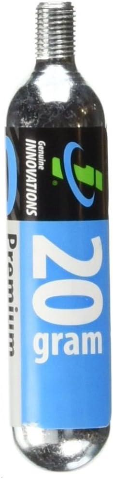 Genuine Innovations 20G Threaded Co2 Cartridge Single