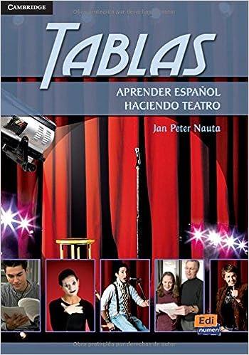 Tablas-aprender Español Haciendo Teatro PDF Descargar