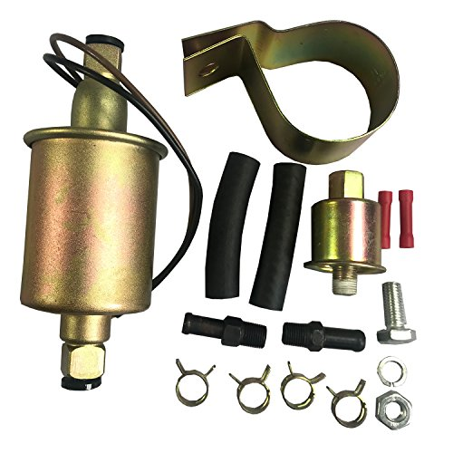 - JDMSPEED New Universaql Electric Fuel Pump For Gas Diesel Marine Carbureted E8016S