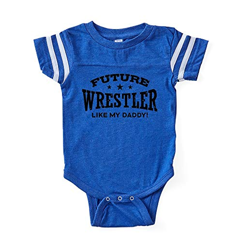 CafePress Future Wrestler Like My Daddy Cute Infant Baby Football Bodysuit