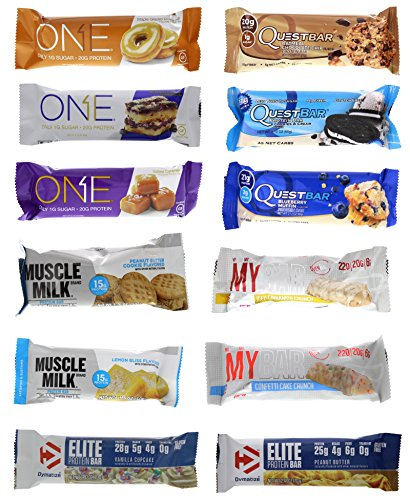 quest bars assorted - 5