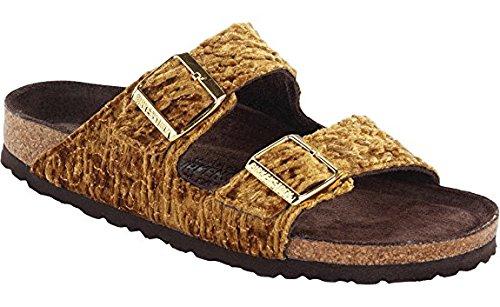 Birkenstock Unisex Arizona Persian Gold Textile Sandals - 5-5.5 B(M) US Women FkneEton7T