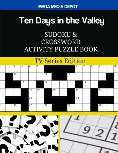 Ten Days in the Valley Sudoku and Crossword Activity Puzzle Book: TV Series Edition PDF