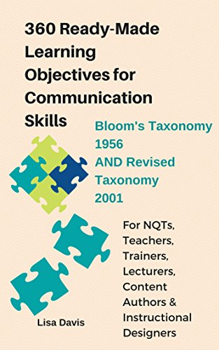 Amazon 360 Ready Made Learning Objectives For Communication