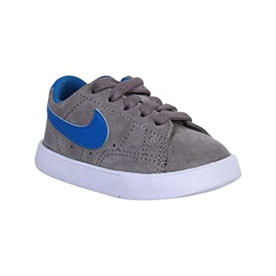 best website 05e75 921ee NIKE Blazer Low Infants Trainers - Grey Blue 4 Child UK  Amazon.co.uk   Shoes   Bags