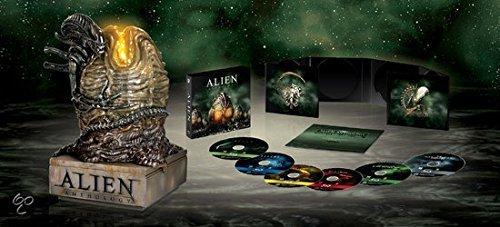 Alien Anthology Collection 4 Films - 6-Disc Box Set and Illuminated Egg Statue Alien / Aliens / Alien 3 Alien³ / Alien: Resurrection Origen Holandés, Ningun Idioma Espanol Blu-Ray: Amazon.es: Sigourney Weaver,