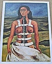 Frida Kahlo The Broken Column 13x10 Offset Lithograph