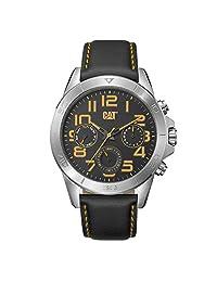 Caterpillar YT14934117 Reloj para Hombre, Silver/Black