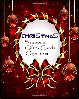 Christmas shopping gift and cards organizer keep track of seasonal turn on 1 click ordering for this browser m4hsunfo