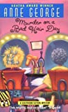 Front cover for the book Murder on a Bad Hair Day by Anne George