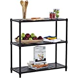 "3-Tier Slat Shelving Rack | 36"" x 14"" x 35"" 