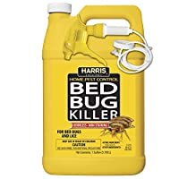 HARRIS Bed Bug Killer, Liquid Spray with Odorless and Non-Staining Extended Residual Kill Formula (Gallon)