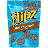Flipz Pretzels, Milk Chocolate, 5-Ounce Packages (Pack of 12)