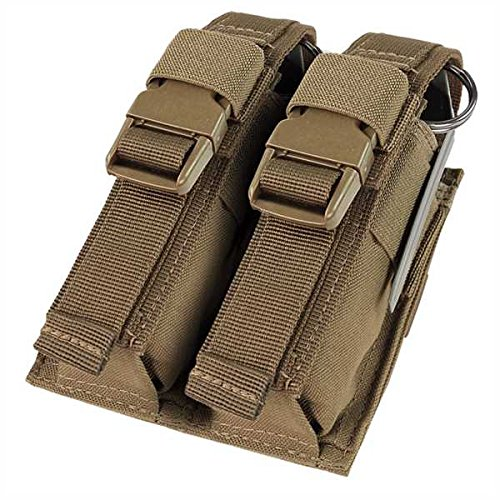 CONDOR Double Flashbang Pouch - Brown
