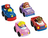 Image of Fisher-Price Little People Wheelies All About Trucks