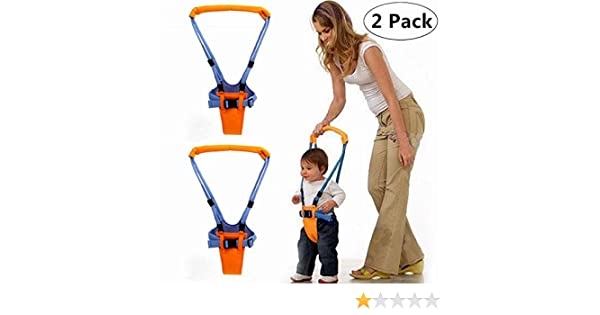 Help The Baby Safely Stand up and Walking Stand Up and Walking Learning Leash Walking Learning Helper for Kids Magnoloran Toddler Walking Assistant Protective Belt Baby Walking Safety Harness 2 Pack Handheld Baby Walker