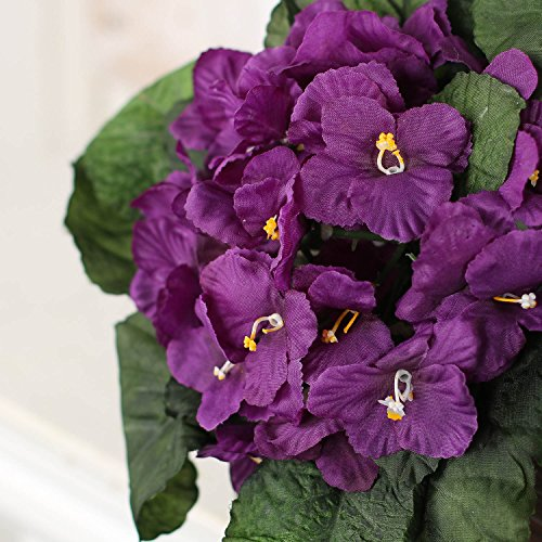 Amazon Factory Direct Craft Purple African Violet Artificial