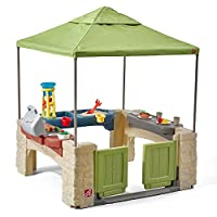 Deals on Step2 All Around Playtime Patio with Canopy Playhouse