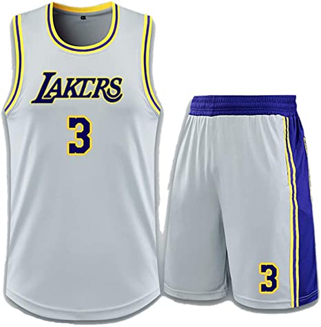 Lakers Anthony 3 Uniforme de Baloncesto, Anthony Davis # 3 ...