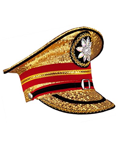 Sunshine Joy Adult Madcap Indian Marching Band Hat Gold X-Large by Sunshine Joy